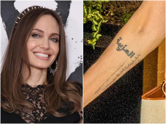 画像: アンジェリーナ・ジョリー、46歳で新たに入れた「名言タトゥー」が意味深 - フロントロウ -海外セレブ情報を発信