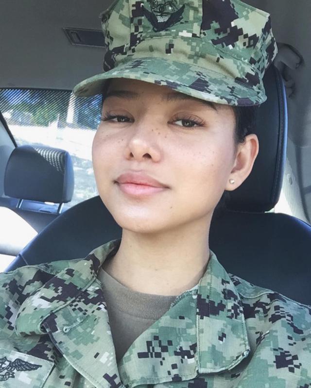 画像: 2018年、海軍に在籍していた頃のベラ。