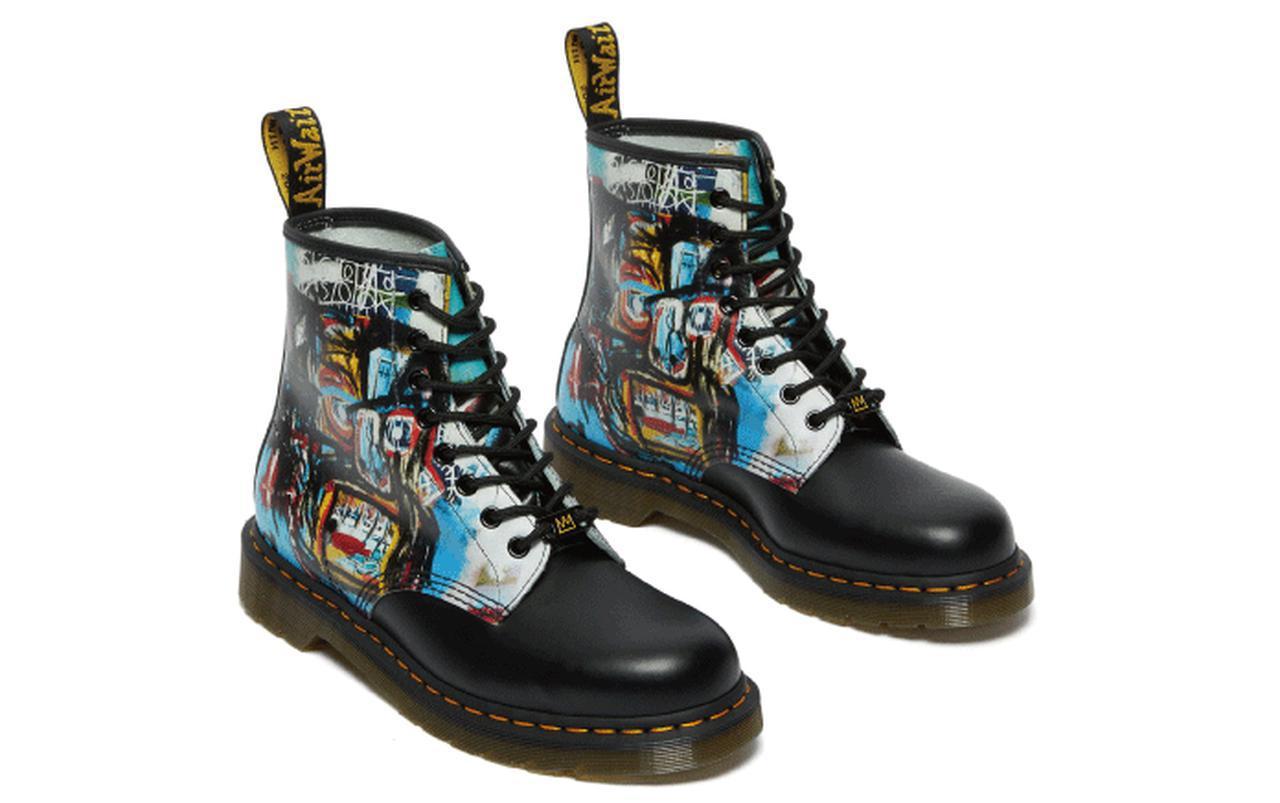 画像: 1460 BASQUIAT 8 EYE BOOT / UK3-11(約22-30cm) / 28,600円(税込) © Estate of Jean-Michel Basquiat. Licensed by Artestar, New York