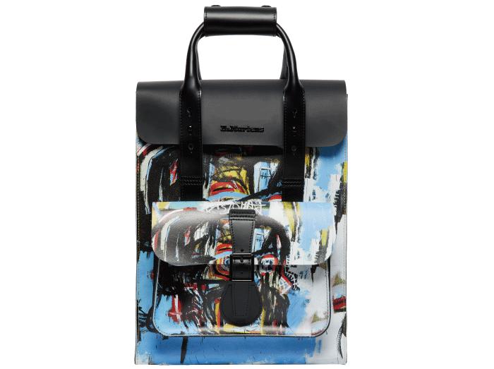画像: BASQUIAT BACKPACK / L 30.5cm, H 39.5cm, D 12.5cm / 35,200円(税込) © Estate of Jean-Michel Basquiat. Licensed by Artestar, New York
