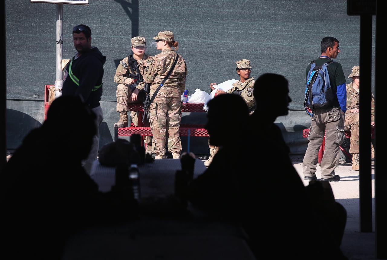 画像2: 米軍がアフガニスタンのバグラム空軍基地から撤退
