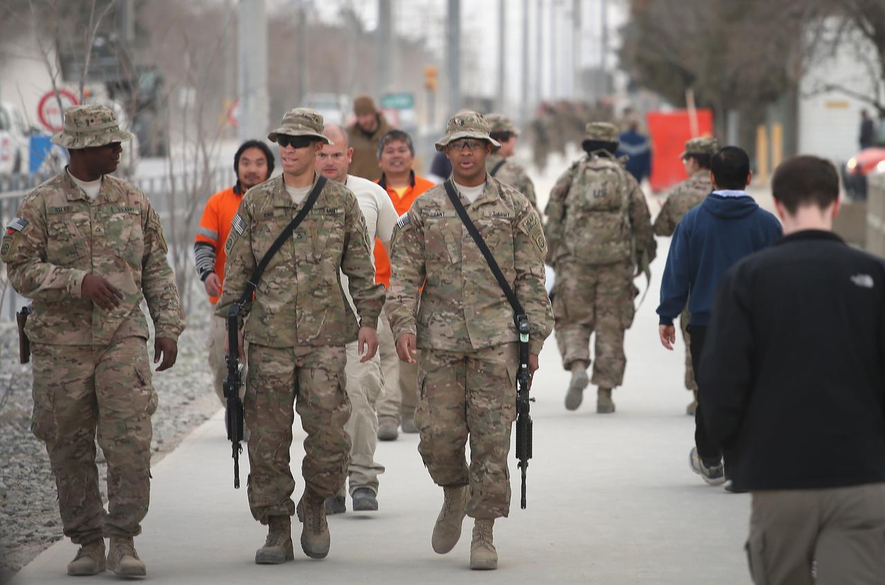 画像1: 米軍がアフガニスタンのバグラム空軍基地から撤退