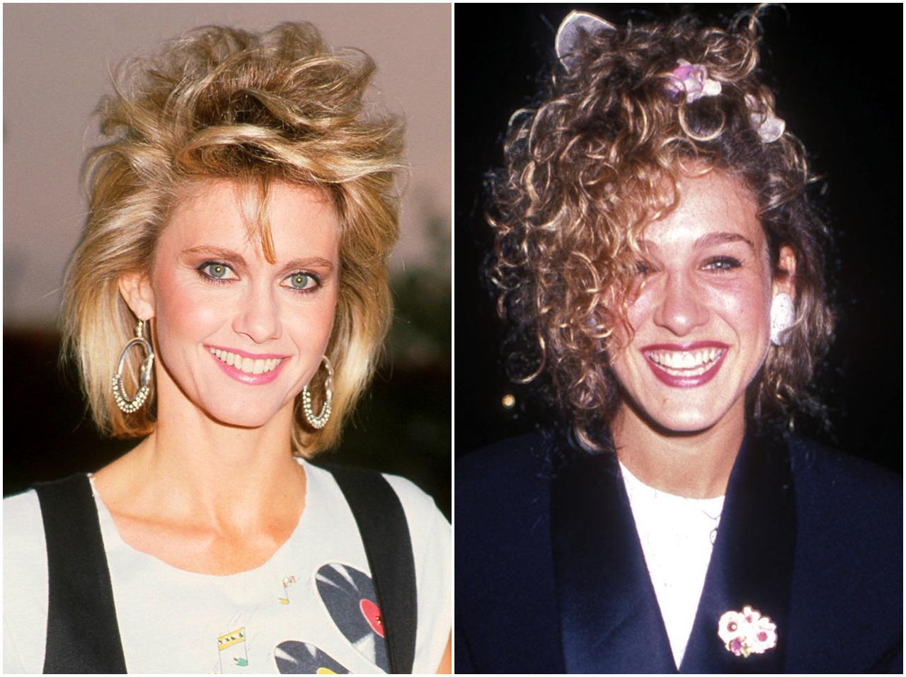 画像: 80年代:マレットヘア、ソバージュヘア