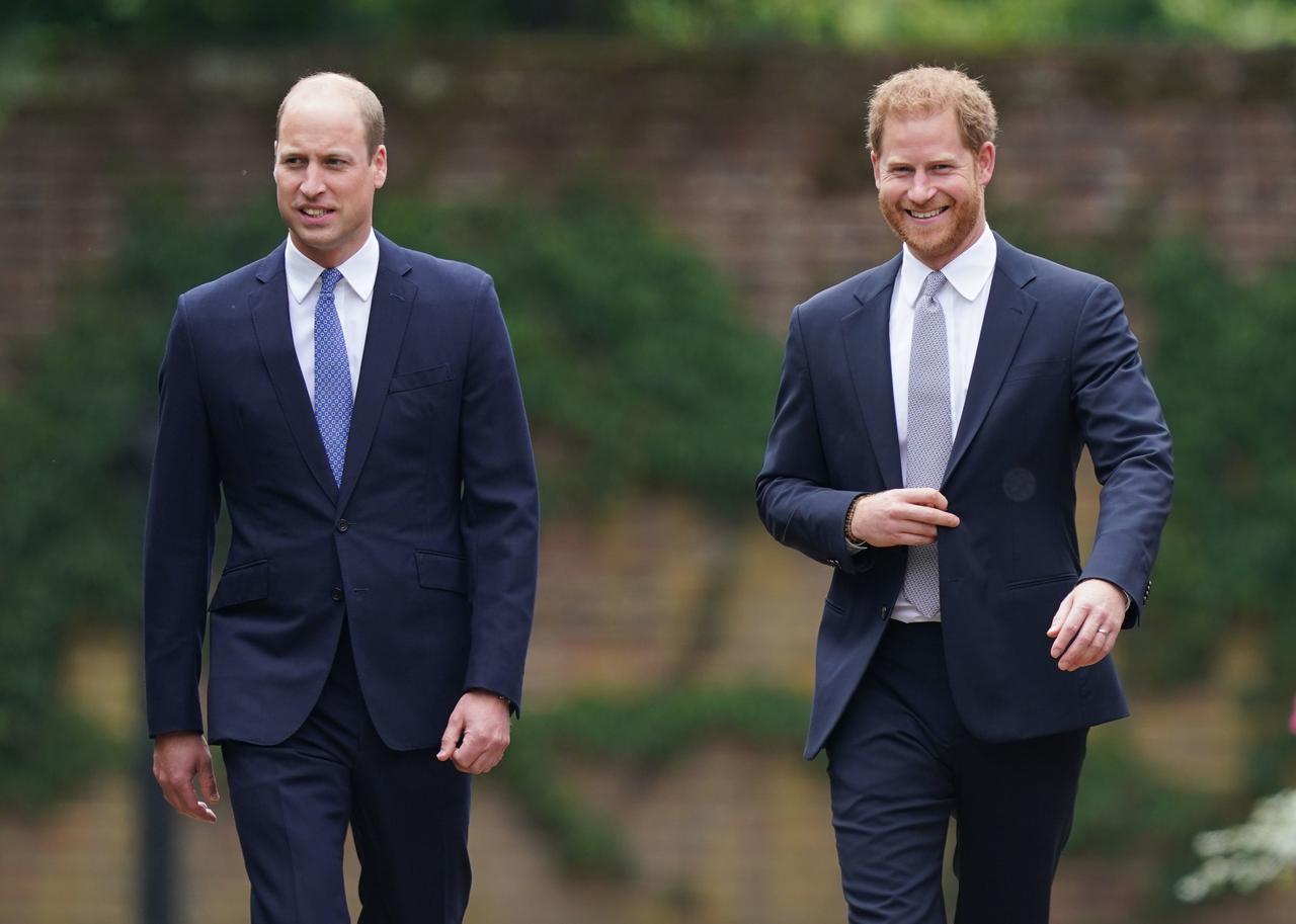 画像2: ウィリアム王子&ヘンリー王子が関係改善に前進!?