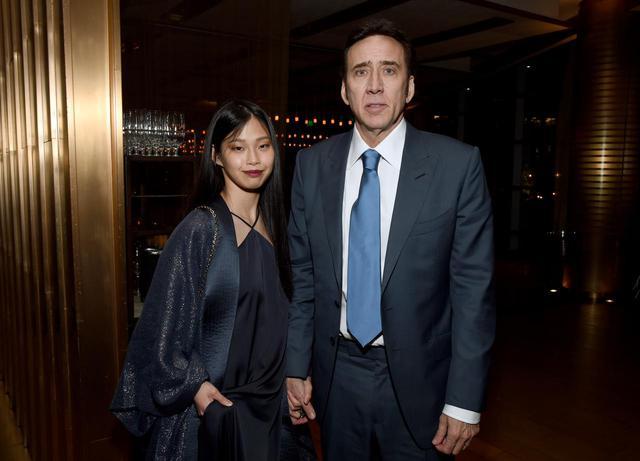 画像3: ニコラス・ケイジが映画のプレミアイベントに日本人妻を同伴