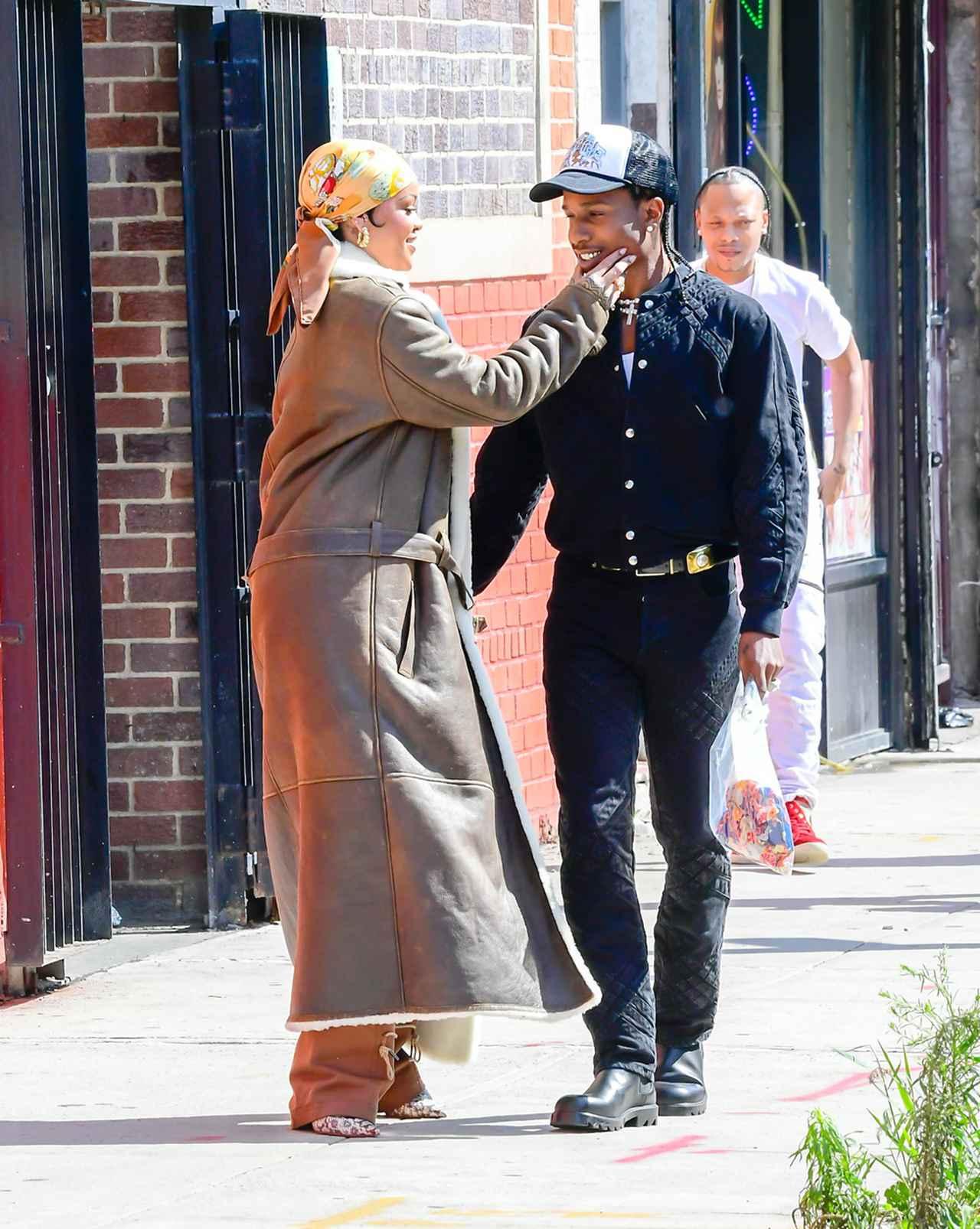 画像2: リアーナとエイサップがニューヨークで撮影