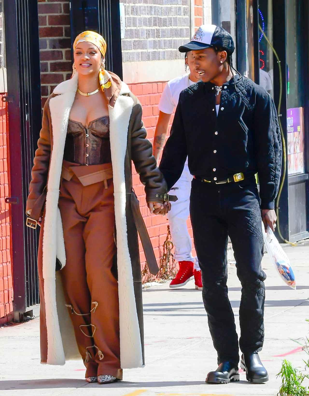 画像4: リアーナとエイサップがニューヨークで撮影