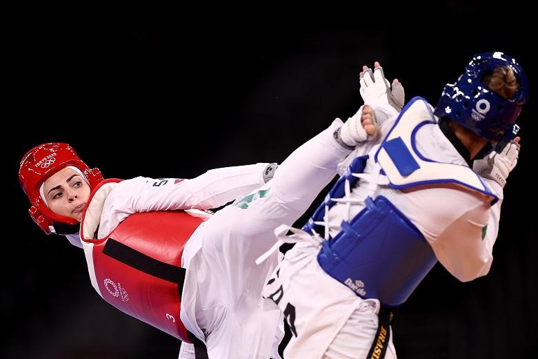 画像2: レディー・ガガにそっくりなテコンドー選手に熱視線