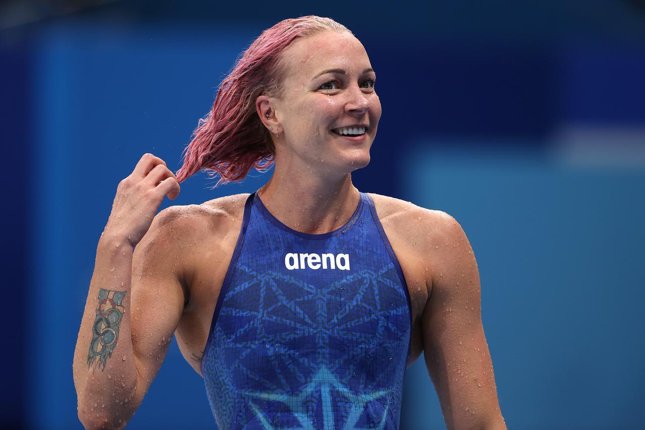 画像: 競泳スウェーデン代表:サラ・ショーストレム選手