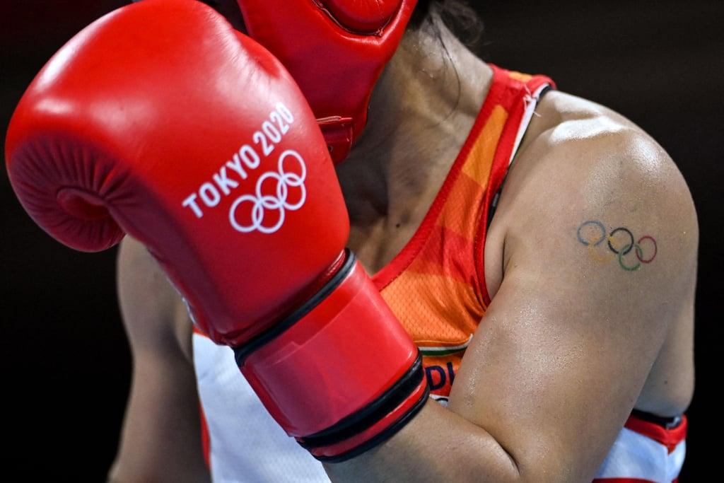 画像: ボクシングインド代表:メアリー・コム選手