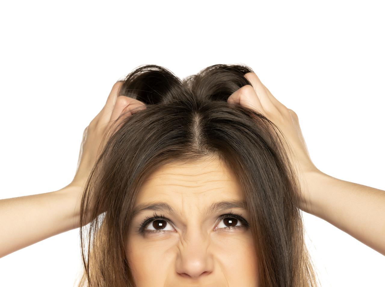 画像1: 切れ毛・抜け毛:タンパク質不足