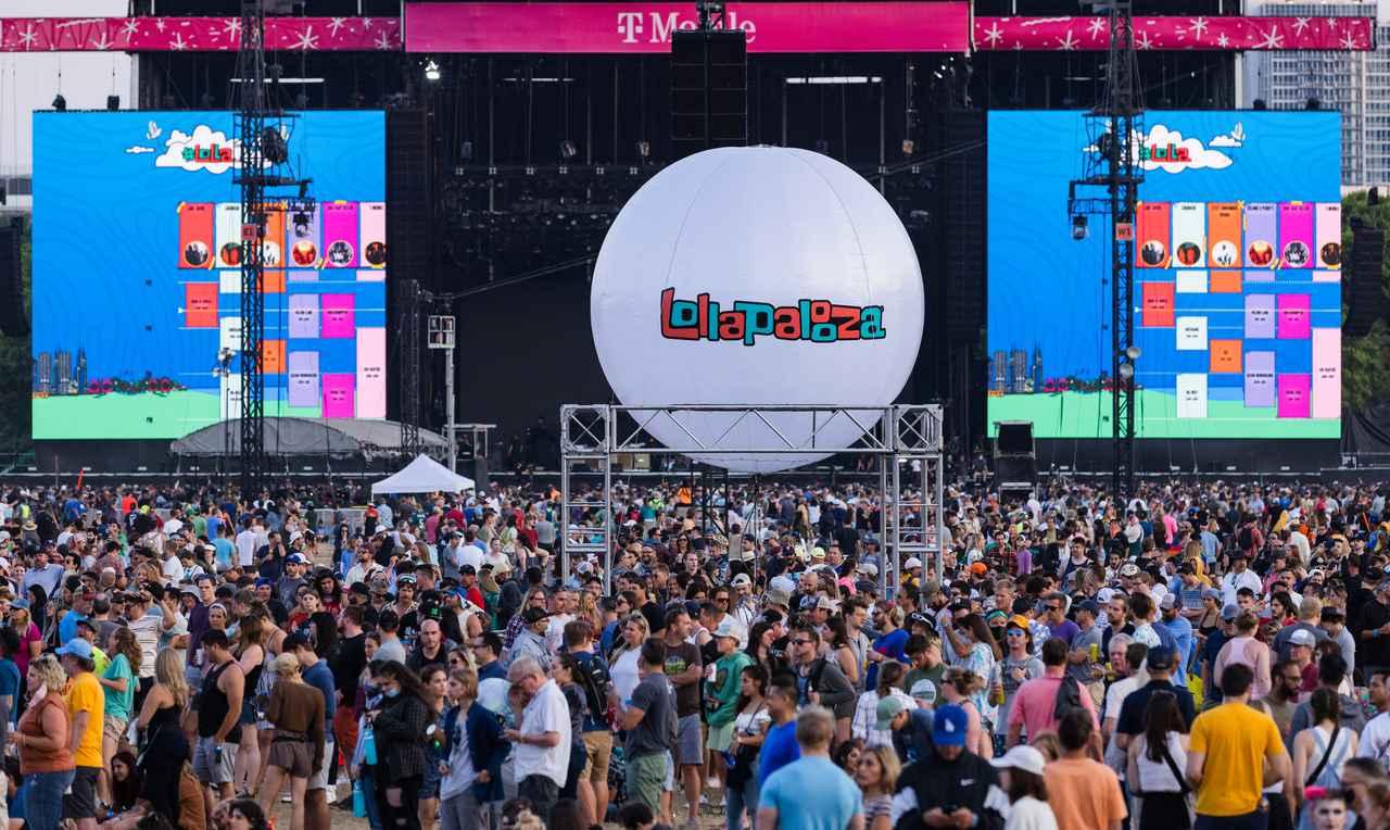 画像: 米現地時間7月29日から8月1日にかけてイリノイ州シカゴで開催された音楽フェスティバル「Lollapalooza」にて。