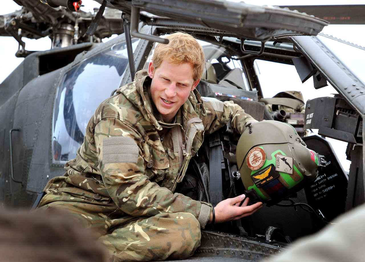 画像: ヘンリー王子が退役軍人にメッセージをおくる