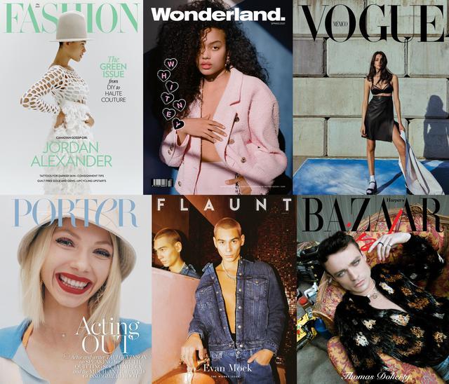 画像: 『ゴシップガール』のキャストたちはファッション誌やカルチャー誌の表紙に次々と起用されている。