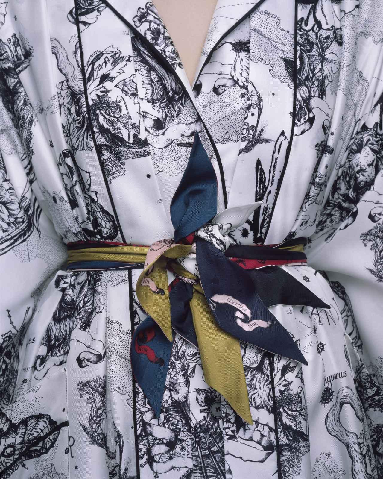 画像2: ディオールが提案するスカーフアレンジ