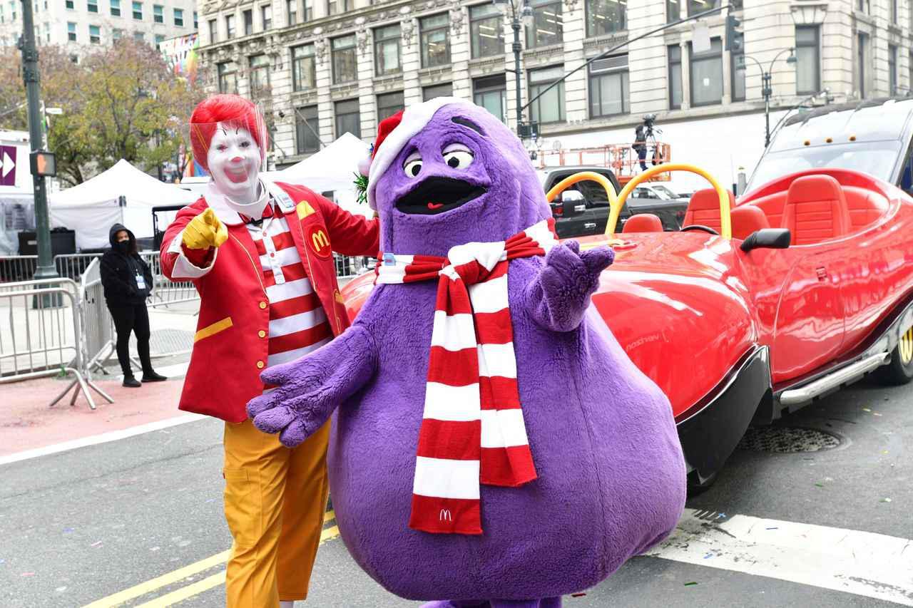 画像: この紫のキャラクターがグリマス。