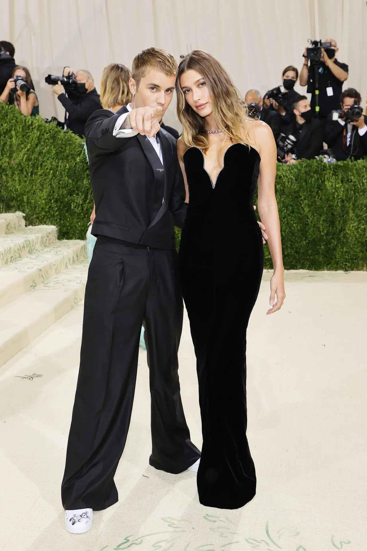 画像: シンガーのジャスティン・ビーバー&モデルのヘイリー・ビーバー