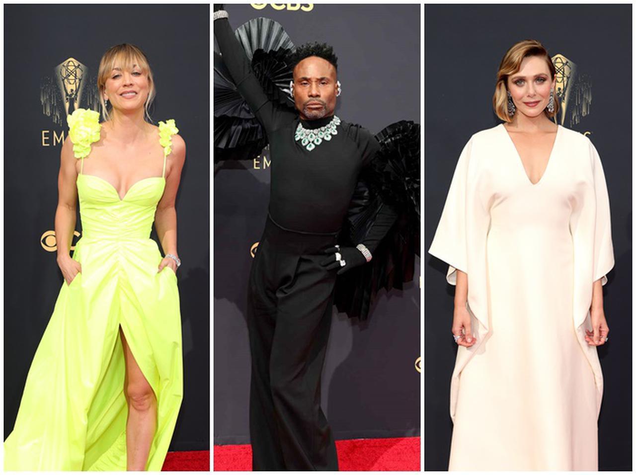 画像: エミー賞2021が開幕!華やかなレッドカーペットスタイルを速報 - フロントロウ -海外セレブ&海外カルチャー情報を発信