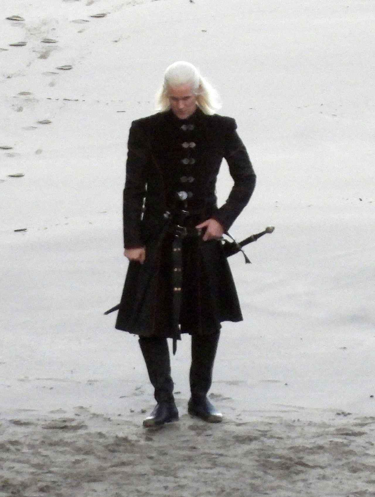 画像: デーモン・ターガリエン王子を演じるマット・スミス。
