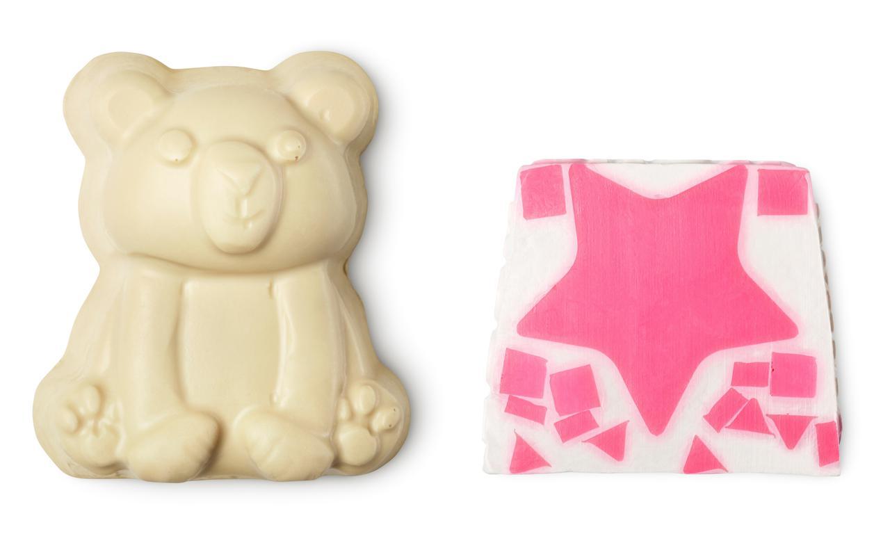 画像: 左:ポーラーベア(ソープ)900円(税込)/ 90g、右:フェアリーキャンディ ソープ(ソープ)900円(税込)/ 100g