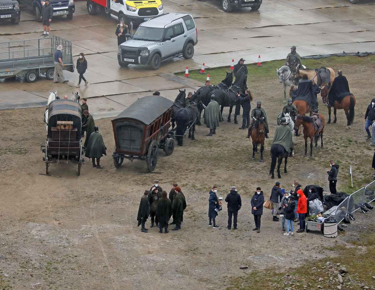 画像2: イギリスで制作中の『GoT』スピンオフ