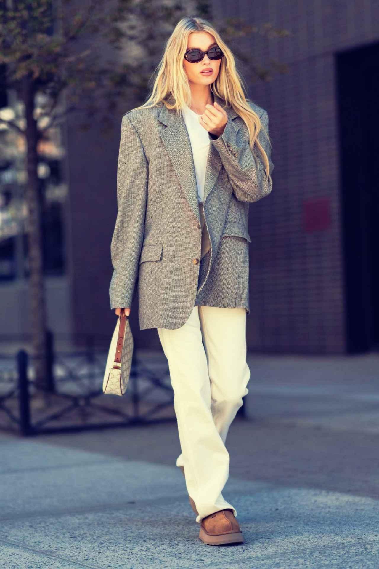画像: モデルのエルザ・ホスク