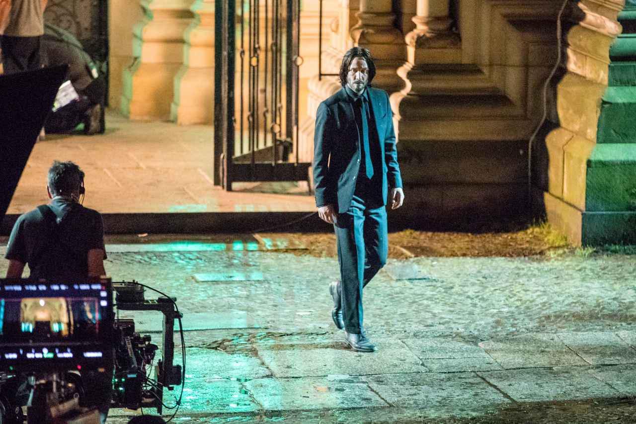 画像: 『ジョン・ウィック』4作目の撮影に臨むキアヌ・リーブス。