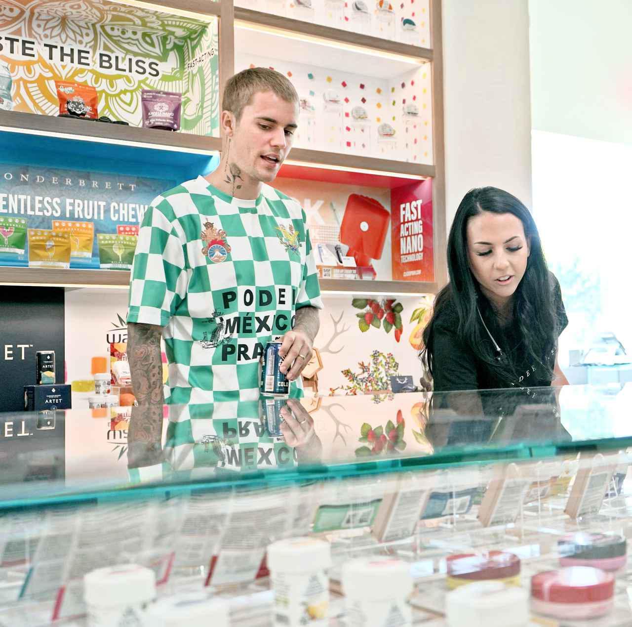 画像: ジャスティン・ビーバーが大麻ビジネスに参入