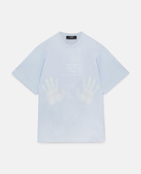 画像1: 買うだけでチャリティに参加できる、色が変わるTシャツを販売