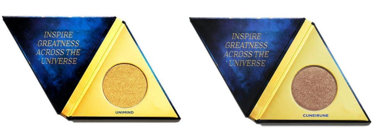 画像: アーバンディケイ「アフターグロウ ハイライター」各26$(2,800円前後)左からユニマインド(Uni-Mind)、クネイルーン(Cuneirune)