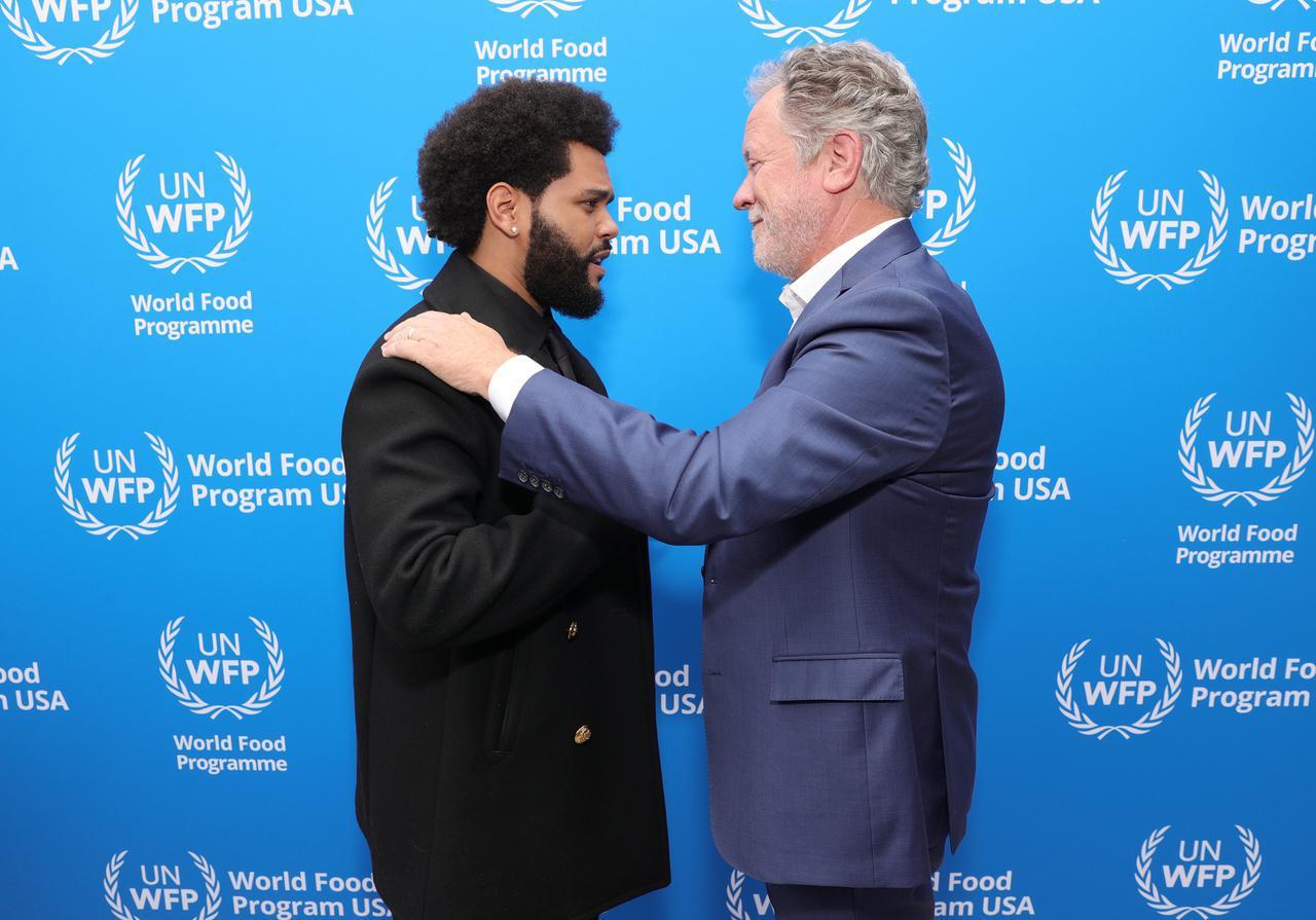 画像: ザ・ウィークエンドが国連と協力して飢餓撲滅を目指す