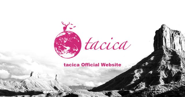 画像: tacica OFFICIAL WEBSITE