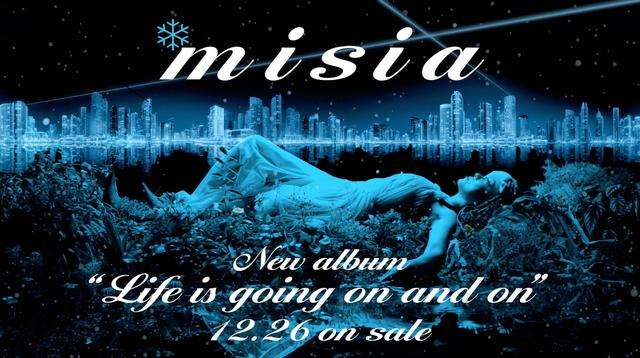 "画像: *misia NEW ALBUM ""Life is going on and on"" 特設サイト"