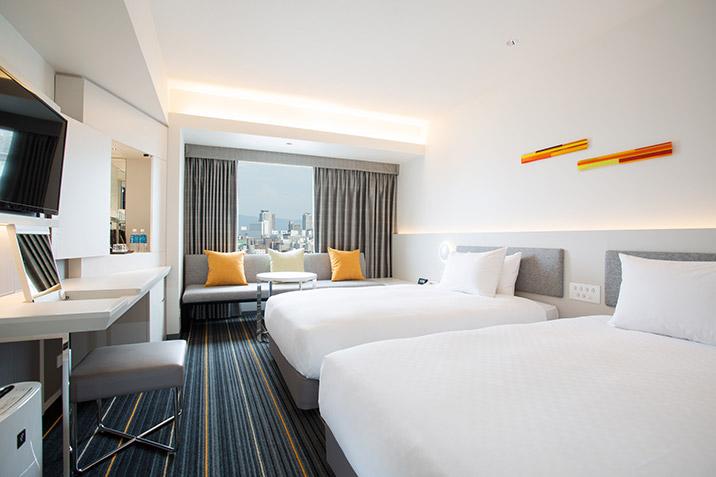 画像: ツイン スーペリア ご宿泊 ホテル日航大阪【公式サイト】HOTEL NIKKO OSAKA