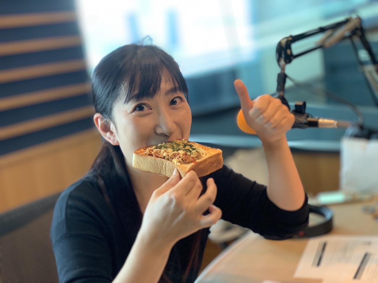 画像2: サバの味噌煮缶トースト