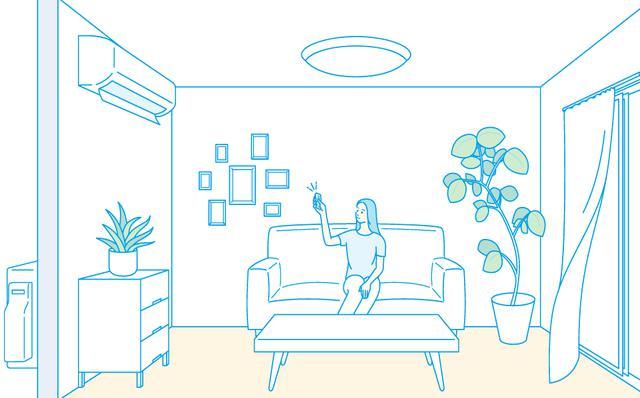 画像: 家庭用エアコン節電情報 | ダイキン工業株式会社