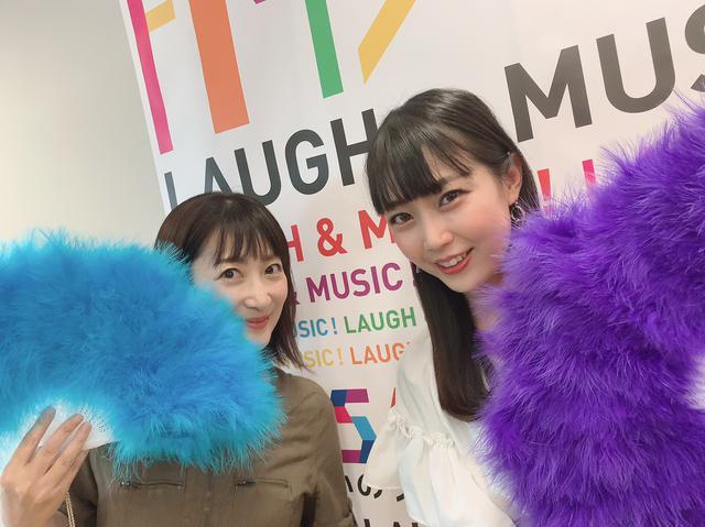 画像: ★しゅくちゃん&高橋さんでジュリ扇持ってみました。