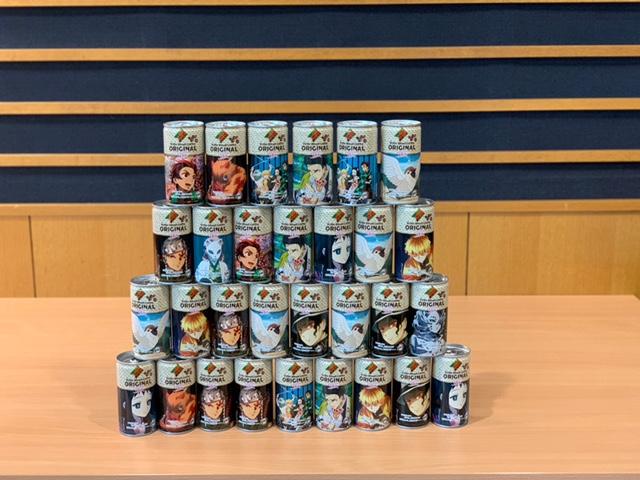 画像: ダイドーブレンド コーヒーオリジナル【鬼滅の刃コラボ缶】 30本ホットドリンクを1名の方にプレゼント!
