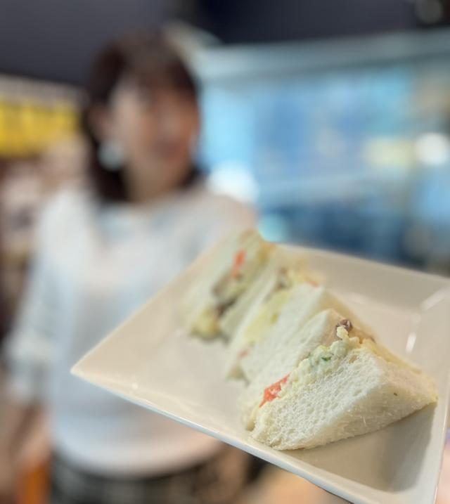 画像2: いぶりがっこポテトサラダサンドイッチ
