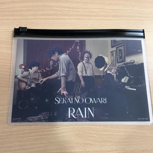 画像: 今日のプレゼント:「SEKAI NO OWARI」RAIN グッズ