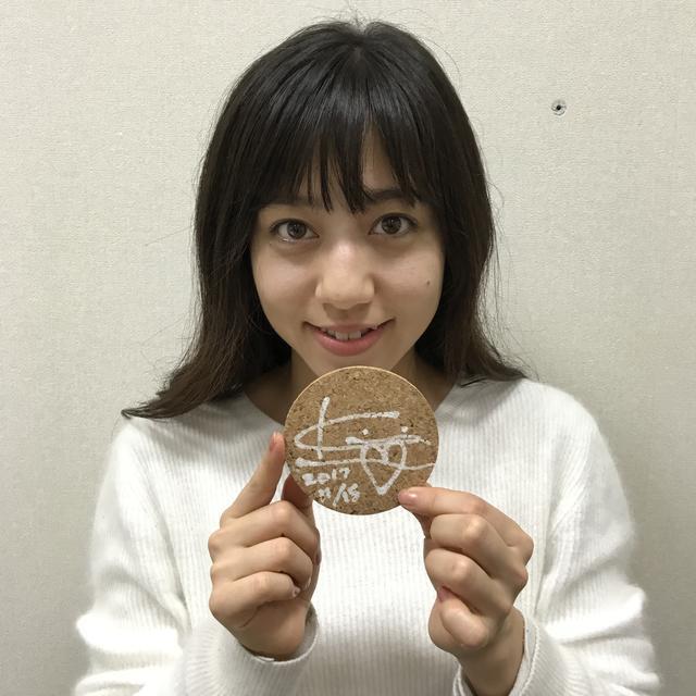画像: 今日のプレゼント:桐嶋ノドカさんサイン入り番組コースター