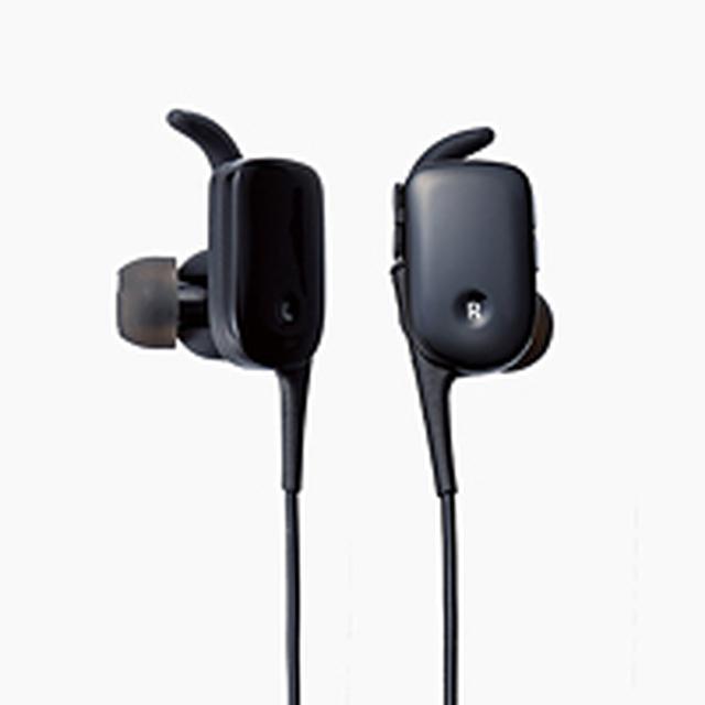 画像: 防水Bluetoothイヤホン - LBT-HPC11WPBK