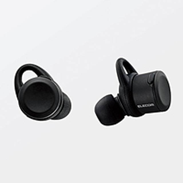 画像: Bluetooth(R)完全ワイヤレスヘッドホン - LBT-TWS01MPBK