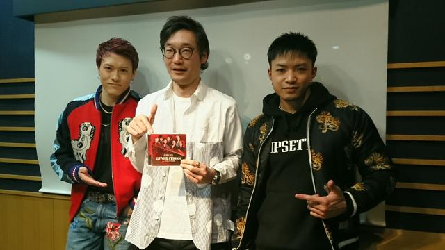 画像: 4月10日(月)Guest:「GENERATIONS from EXILE TRIBE」