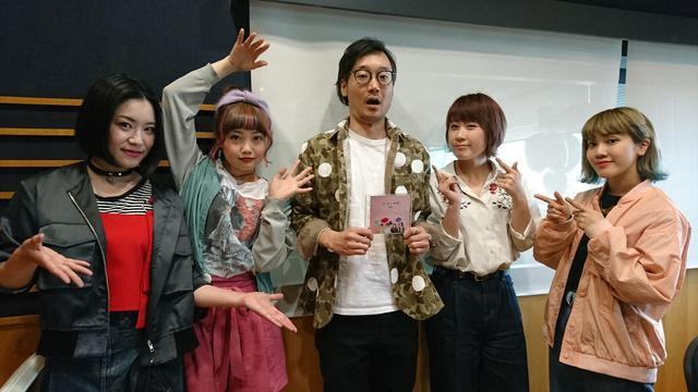 画像: 左から Ba.内田愛子さん、Dr.茄子川さん、Vo.鈴木奈津美さん、Gt.中西詠美さん!