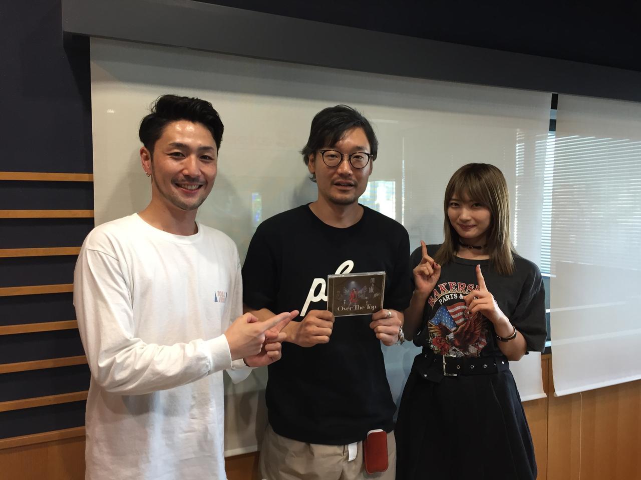 画像: 「Over The Top」からVo.岸野里香さん、Dr.&DJ.田中裕基さん!メジャーデビューおめでとうございます!