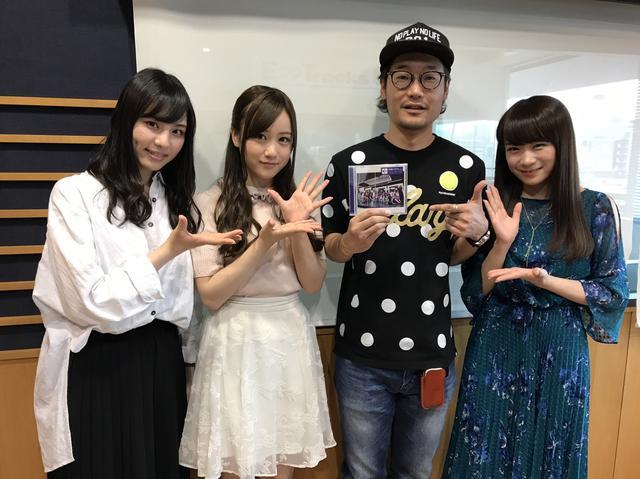 画像: 「乃木坂46」から、秋元真夏さん(右)、星野みなみさん(中央)、相楽伊織さん(左)に来ていただきました!