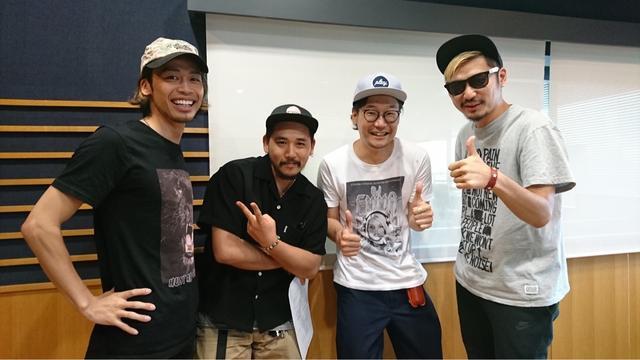 画像: 「ROYALcomfort」のKAY-Iさん(左)、ROVERさん(中央)、BGYさん(右)!「一気にファンになった!」(by.髙木)