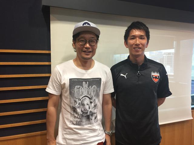 画像: 6月1日(木)Guest:「シュライカー大阪・佐藤亮選手」