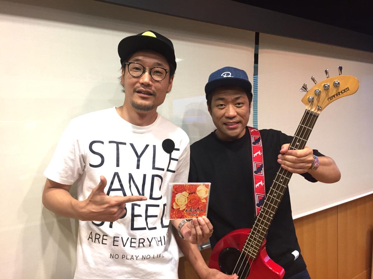 画像: 生演奏もしてくださった「はなわ」さん!「佐賀県」ど世代のスタッフも感動のゲストコーナーでした!